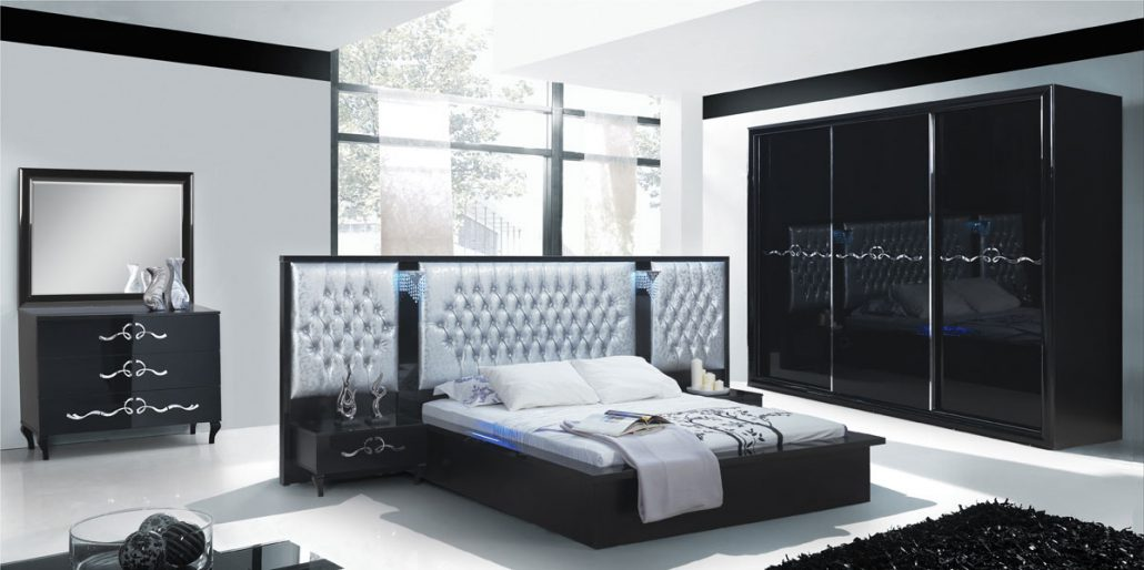 Bed Set Wardrobe Louis Valentino